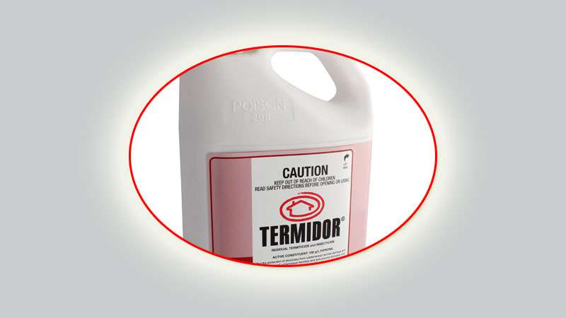 Termidor termite control Review